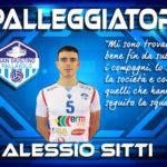 Pallavolo San Giustino: Alessio Sitti confermato