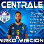 Pallavolo San Giustino: Mirko Miscione il nuovo centrale della squadra
