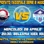 Pallavolo San Giustino: la partita contro Romagna Banca Bellaria il 28 aprile!