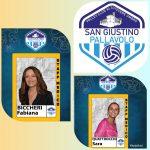 Pallavolo San Giustino: lo staff medico dà il benvenuto a Sara Quattrocchi e Fabiana Biccheri