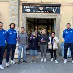 Pallavolo San Giustino ringrazia l'edicola cartolibreria Moretti Marchina